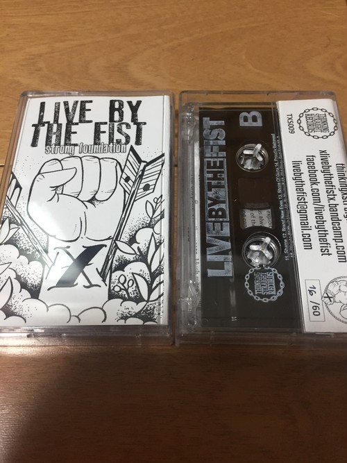 Live By The Fist - Strong Foundation TAPE