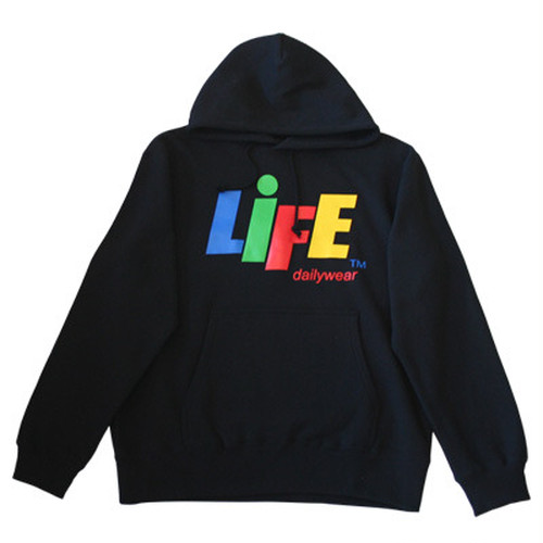 LIFE CANDY LOGO PULLOVER HOODY TYPE-1 / LIFEdesign