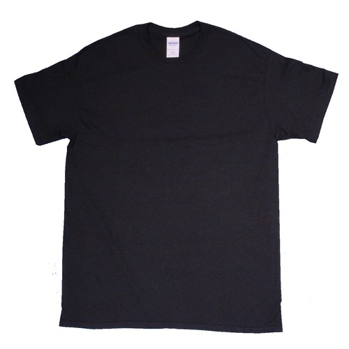 GILDAN S/S T-Shirt BLACK