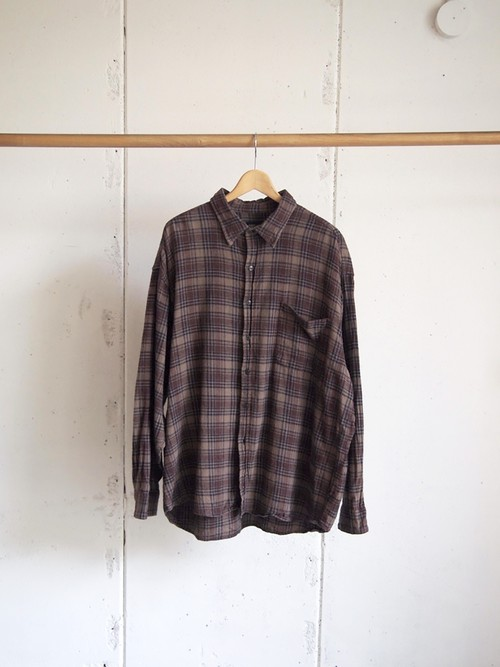USED / FADED GLORY, Flannel check shirts