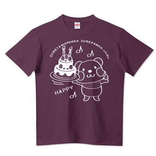 キャラT56 ズレぱんだちゃんとHAPPY *5.6ハイクオリティーTシャツ(United Athle)