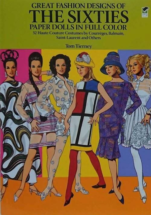 【着せ替え本】60年代ファッション