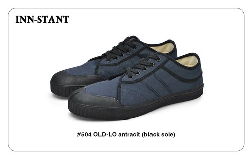 #504 OLD-LO antracit (black sole) INN-STANT インスタント