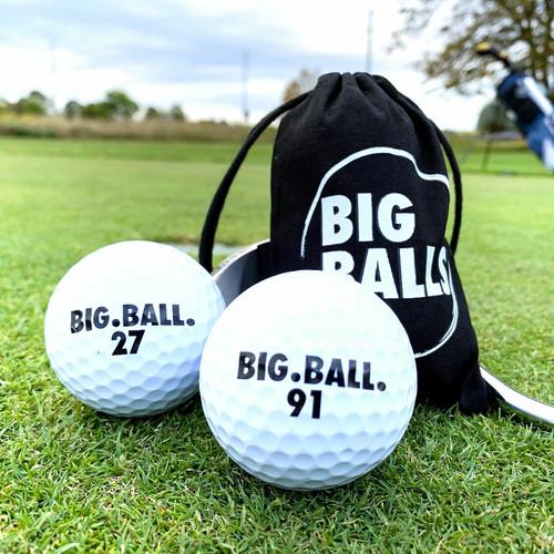 「BIG BALLS」 ラウンド前のわずかな時間であなたのパッティング意識とスコアを修正します!