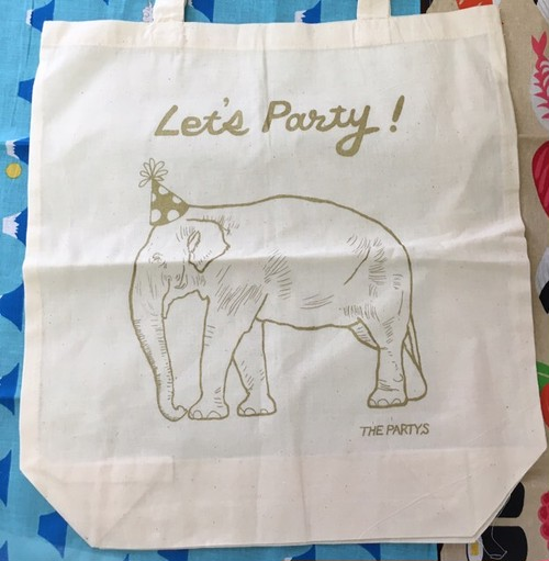 Let's Party ぞうバッグ