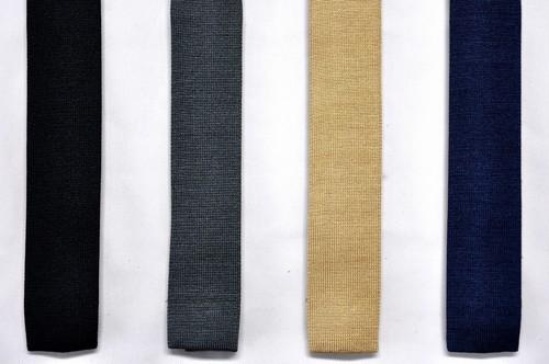 ALAN SMITHEE ニットタイ - Knit Tie - 416-080-30-001