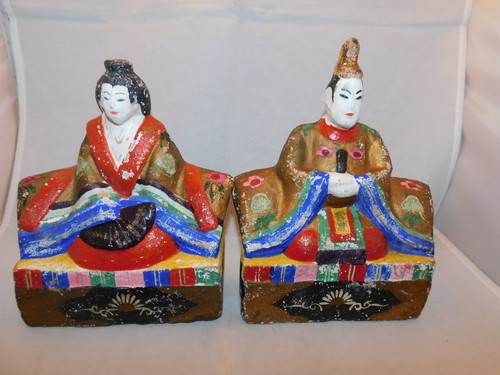 東北土人形お雛様Hina dolls(Girl Festival on March)(No12)