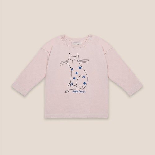 《BOBO CHOSES 2020AW》Cat long sleeve T-shirt / 6-36M