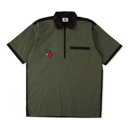 CAUSE AND EFFECT HALF ZIP SHIRT / THUMPERS