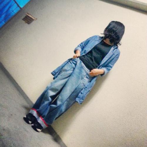 tomoki yuritaのリメイク・ワイドデニム Mサイズ