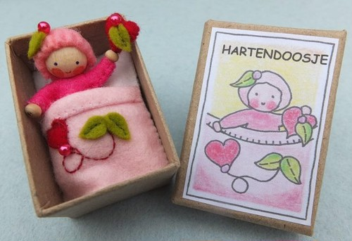 ハートの女の子ボックス 手作りキット