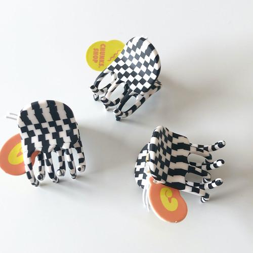 """Chunks """"Mini Claw"""" Mini Glitchチャンクス バンスクリップ・ヘアピン"""