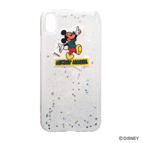 DISNEY / GLITTER iPhone CASE XR YY-D060 MM