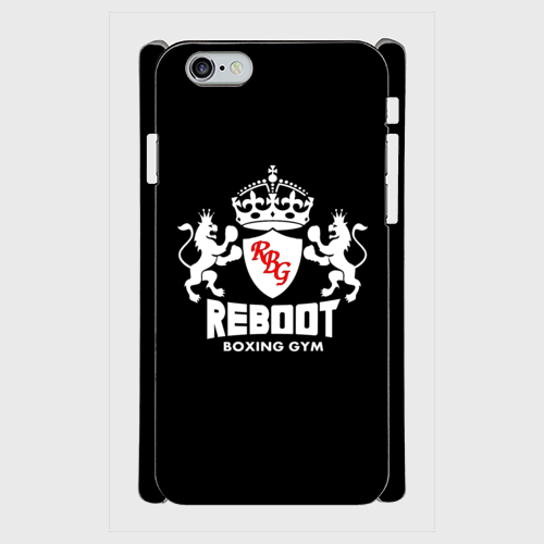 REBOOTエンブレムスマホケース【iPhone6/6s、Plus対応】