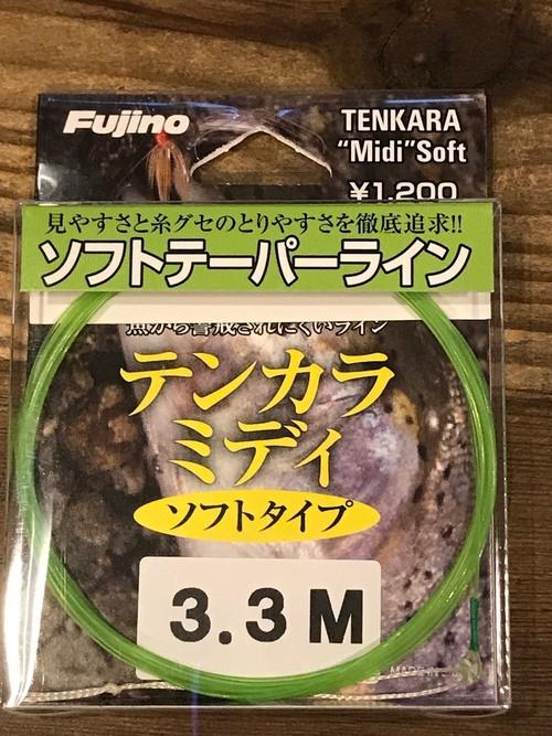 テンカラ ミディ ソフトタイプ(単糸テーパーライン)