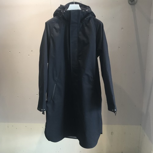 meanswhile 3 Layer Ventile Poncho Coat/NAVY