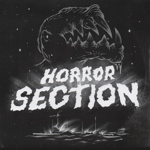 """horror section / inside 7"""" BLACK vinyl"""