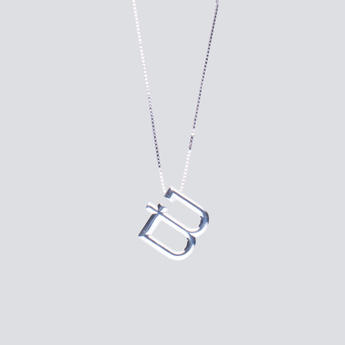 """""""B"""" NECKLACE"""