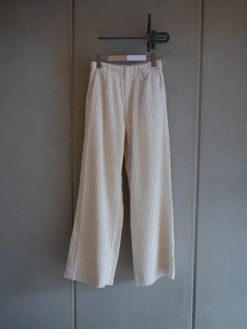 THE MERMAID / CORDUROY OVER PANTS (WHITE)