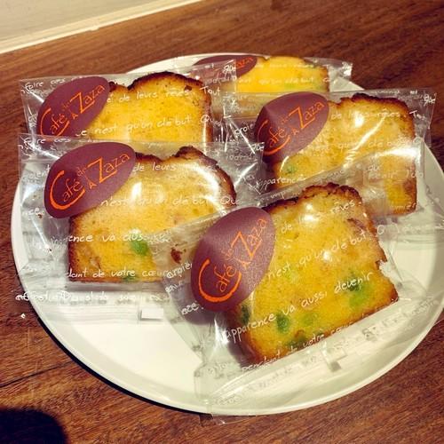 レモンのパウンドケーキ (カット)