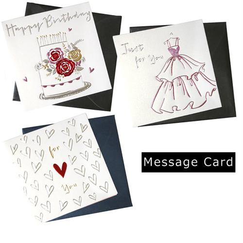 【即納】メッセージカード プレゼント ギフト ケーキ ハート z-061