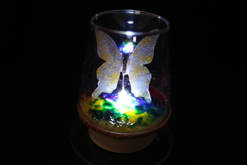 Healing lamp 蝶