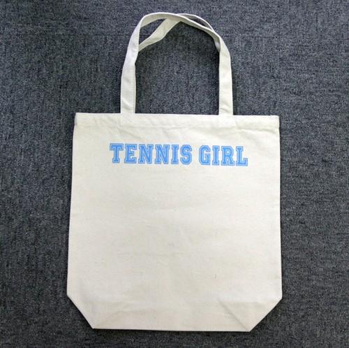 TENNIS GIRL トートバッグ