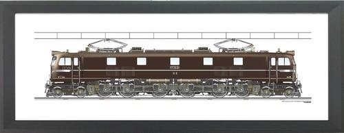 EF58 61  850x300mm