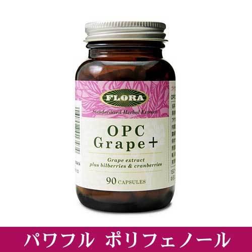 OPCグレープ+(プラス) ポリフェノールサプリ フローラハウス