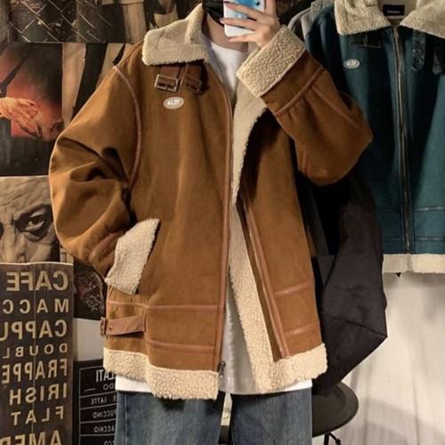 韓流 極暖ボアブルゾンジャケット 韓国風 冬物