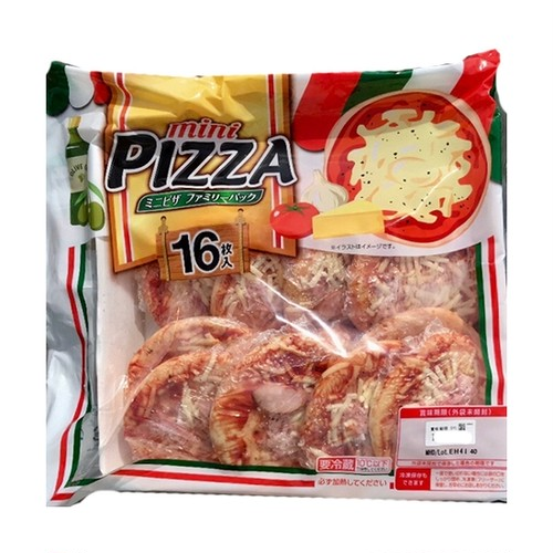 コストコ 丸大食品 ミニピザファミリーパック 16枚入り   Costco Marudaishokuhin mini pizza family pack 16 pieces