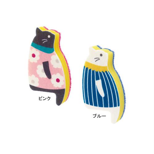 猫スポンジ(おすわりスポンジネコ大)全2種類