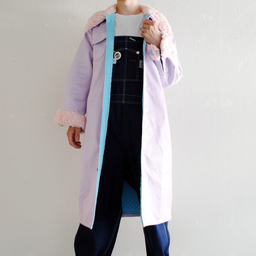 『WEARING MAIA』 PADDED PURPLE COAT