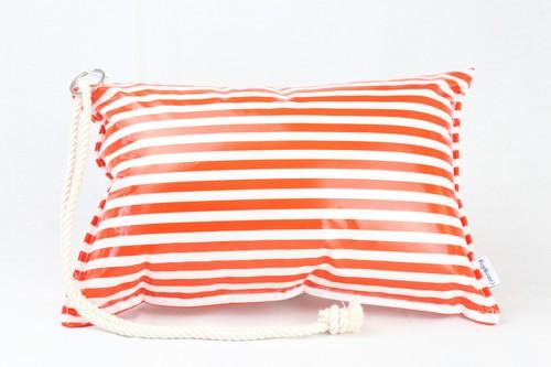 [Pillow Bag]Border Orange