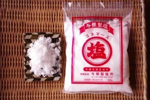 沖縄県・与根村の釜炊き塩 ヨネマース 800g