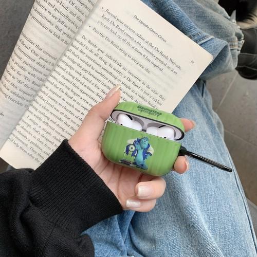 【注文商品】Cute Cartoon Monster University Soft IMD Airpods Proケース【Green】