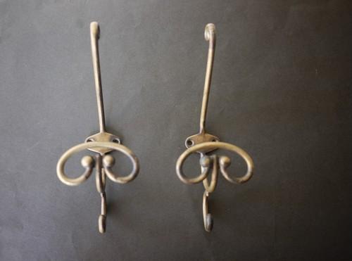 真鍮トリプルフック 1P  ウォールフック ヴィンテージ