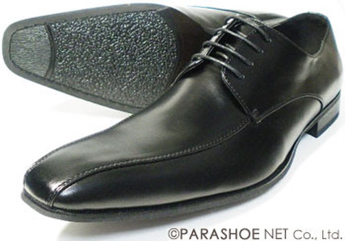 S-MAKE スワールモカ ビジネスシューズ 黒 ワイズ(ウィズ)/3E(EEE) 27.5cm、28cm(28.0cm)、29cm(29.0cm)、30cm(30.0cm) 【大きいサイズ(ビッグサイズ)紳士靴】【NS-1201BL】