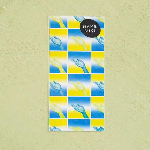 リソグラフ 一筆箋[どうぞこちらへ]Yellow × Blue