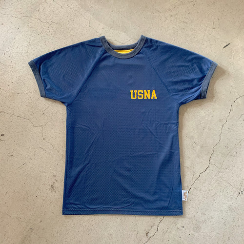 80's USNA Reversible Mesh T-Shirt
