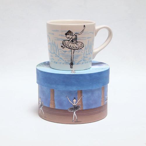マグカップ 白鳥の湖