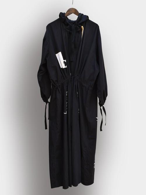 Re1039: Hoodie Big Shirt Coat / フーディビッグシャツコート