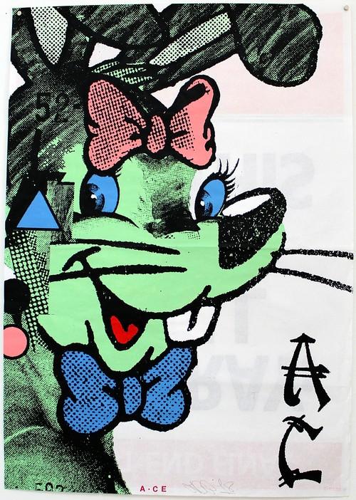 A.CE/Original paste up