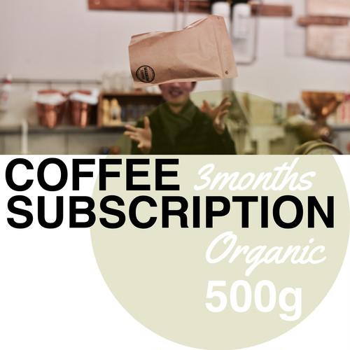定期購入 3ヶ月間 コーヒー豆 500g