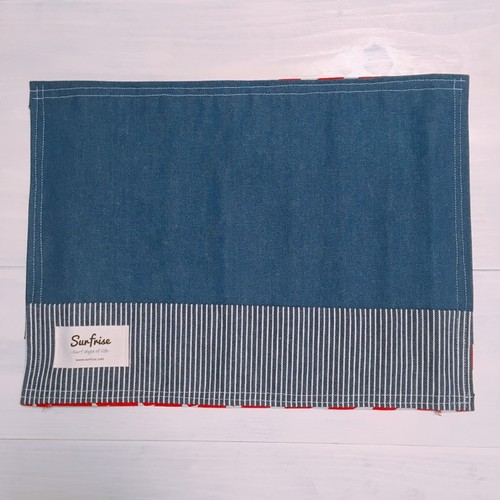Denim lunch mat S1