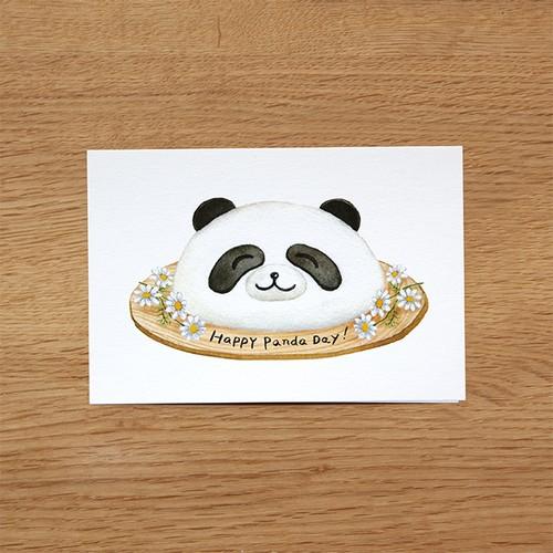 ハッピーパンダデー!ポストカード