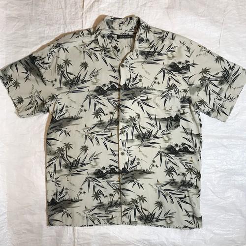 【SILK ICON】アロハシャツ SILK100%