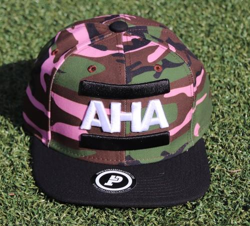 CAP AHA ROSE / GREEN