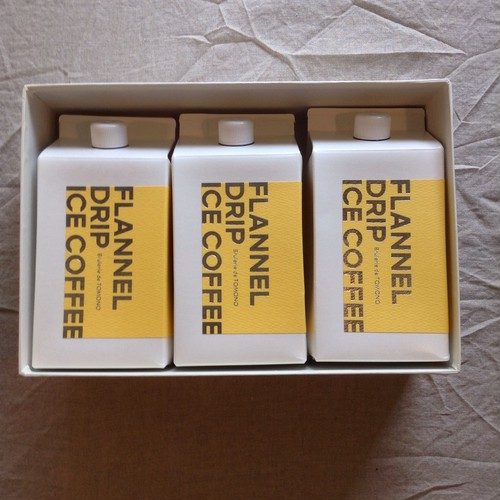 オリジナル リキッドアイスコーヒー 3本入 ギフトボックス
