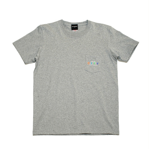 WWWTYO CITY POCKET TEE (HEATHER GREY)
